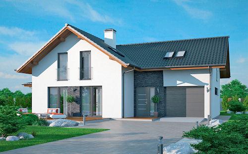 Stela patří dlouhodobě k nejstavěnějším domům v nabídce společnosti Ekonomické stavby. Objekt v sobě slučuje atmosféru pohodového stylu života s praktickým řešením uspořádání vnitřního prostoru.