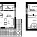 G SERVIS CZ - Aktiv House 2 - půdorysy
