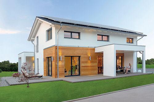Nadčasová architektura je výrazným znakem montovaných rodinných domů aktuálně žádaných na českém trhu. Z těch méně patrných kvalit staveb tohoto druhu dominují zejména zařízení pomáhající zajišťovat úspory při vytápění.