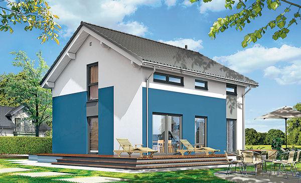 Přestože tento dům nese mnohé ze znaků provázejících hospodárné pojetí konstrukce stavby, určitě plní i všechny nároky kladené na komfortní bydlení.